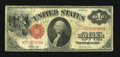 Fr. 37 $1 1917 Legal Tender Fine. A well handled example of this red seal type which has good color and no problems