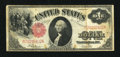 Fr. 39 $1 1917 Legal Tender Fine. Original surfaces are detected on this $1 Legal that was folded into eighths. A little...