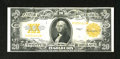 Large Size:Gold Certificates, Fr. 1187 $20 1922 Gold Certificate Very Fine. Bright orange ink adorns this bright, original $20 Gold....