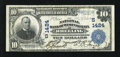 National Bank Notes:West Virginia, Wheeling, WV - $10 1902 Plain Back Fr. 624 The NB of West VirginiaCh. # (S)1424. This is a bright, original $10 with da...