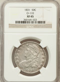 Bust Half Dollars, 1831 50C XF45 NGC. O-110. NGC Census: (124/1199). PCGS Population(211/1209). Mintage: 5,873,660. Numismedia Wsl. Price for...
