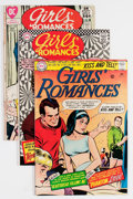 Silver Age (1956-1969):Romance, Girls' Romances Group - Savannah pedigree (DC, 1966-71) Condition:Average VF/NM.... (Total: 14 Comic Books)