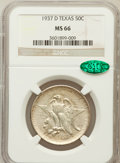 Commemorative Silver: , 1937-D 50C Texas MS66 NGC. CAC. NGC Census: (462/96). PCGSPopulation (495/126). Mintage: 6,605. Numismedia Wsl. Price for ...