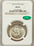 Commemorative Silver: , 1937-S 50C Texas MS66 NGC. CAC. NGC Census: (451/101). PCGSPopulation (447/84). Mintage: 6,637. Numismedia Wsl. Price for ...