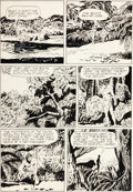 Original Comic Art:Panel Pages, Jesse Marsh Tarzan #13 Page 33 Original Art (Dell, 1950)....