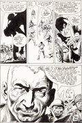 Original Comic Art:Panel Pages, Joe Kubert Our Army at War #222 Page 14 Original Art (DC,1970)....