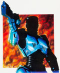 Original Comic Art:Covers, Frank Miller and Brian Stelfreeze Comics Interview #82 RoboCop Painted Cover Original Art (Fictioneer Books Ltd., ...