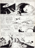 "Original Comic Art:Panel Pages, Gil Kane and Joe Giella Green Lantern #24 ""The Strange WorldNamed Green Lantern"" Page 7 Original Art (DC, 1963)...."