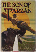 Books:Science Fiction & Fantasy, Edgar Rice Burroughs. The Son of Tarzan. Grosset & Dunlap, 1927. Reprint edition. Mild rubbing to cloth. Foxing to e...