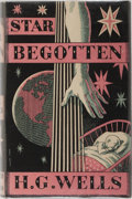 Books:Science Fiction & Fantasy, H. G. Wells. Star Begotten. Chatto & Windus, 1937. First edition, first printing. Foxing to page edges. Light ru...