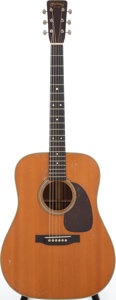 Musical Instruments:Acoustic Guitars, 1955 Martin D-28 Natural Acoustic Guitar, Serial # 144523....