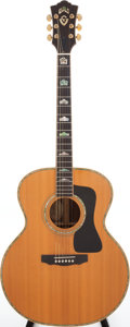 Musical Instruments:Acoustic Guitars, Circa 1995 Guild J7100 Custom Natural Acoustic Guitar, Serial #AJ100005. ...