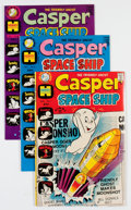 Bronze Age (1970-1979):Cartoon Character, Casper Spaceship/Casper Strange Ghost Story File Copies Group (Harvey, 1970s) Condition: Average NM-.... (Total: 59 Comic Books)