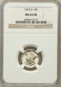 Mercury Dimes: , 1943-D 10C MS65 Full Bands NGC. NGC Census: (1372/2616). PCGSPopulation (4432/4196). Mintage: 71,949,000. Numismedia Wsl. ...