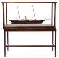 Maritime:Decorative Art, SCALE SHIP MODEL OF THE J.P. MORGAN YACHT CORSAIR II . 27 x 13-3/4x 52-1/4 inches (68.6 x 34.9 x 132.7 cm). Built as the ...