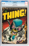 Golden Age (1938-1955):Horror, The Thing! #14 (Charlton, 1954) CGC VG/FN 5.0 Cream to off-whitepages....