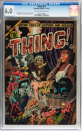 Golden Age (1938-1955):Horror, The Thing! #11 (Charlton, 1953) CGC FN 6.0 Cream to off-whitepages....