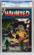 Golden Age (1938-1955):Horror, This Magazine Is Haunted #21 (Charlton, 1954) CGC VF/NM 9.0 Creamto off-white pages....