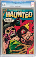 Golden Age (1938-1955):Horror, This Magazine Is Haunted #20 (Charlton, 1954) CGC NM 9.4 Cream tooff-white pages....