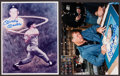 Baseball Collectibles:Photos, Mickey Mantle Signed Photograph Lot of 2. ...