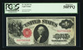 Large Size:Legal Tender Notes, Fr. 36 $1 1917 Legal Tender PCGS About New 50PPQ.. ...