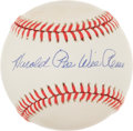 Autographs:Baseballs, Harold Pee Wee Reese Single Signed Baseball....