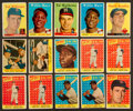 Baseball Cards:Lots, 1958 Topps Baseball Collection (348) With Many Stars. ...