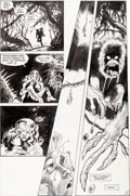 Original Comic Art:Panel Pages, Steve Bissette and John Totleben Saga of the Swamp Thing #27Page 12 Original Art (DC, 1984)....