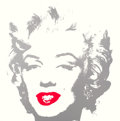 Prints:Contemporary, AFTER ANDY WARHOL (American, 1928-1987). Golden Marilyn.Color screenprint on museum board. 36 x 36 inches (91.4 x 91.4 ...(Total: 2 Items)