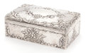 Silver Holloware, British:Holloware, A JOSEPH BRAHAM LATE VICTORIAN SILVER AND WOOD CIGAR BOX . Circa 1898-1899. Marks: (lion passant), (leopard's head), JB, C...