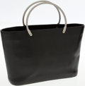 Luxury Accessories:Bags, Chanel Black Caviar Leather Bucket Tote with Burnished SilverHandles. ...
