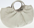 Luxury Accessories:Bags, Christian Dior White Leather Babe Top Handle Bag. ...