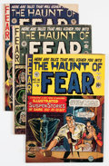Golden Age (1938-1955):Horror, Haunt of Fear Group (EC, 1950-54) Condition: Average GD.... (Total:13 Comic Books)