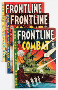 Golden Age (1938-1955):War, Frontline Combat Group (EC, 1951-54) Condition: Average GD.... (Total: 11 Comic Books)
