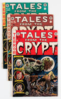 Golden Age (1938-1955):Horror, Tales From the Crypt Group (EC, 1953-55) Condition: AverageGD/VG.... (Total: 6 Comic Books)