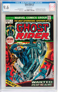 Bronze Age (1970-1979):Horror, Ghost Rider #1 (Marvel, 1973) CGC NM+ 9.6 Off-white pages....