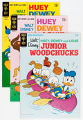 Bronze Age (1970-1979):Cartoon Character, Huey, Dewey, and Louie Junior Woodchucks File Copies Group (GoldKey/Whitman, 1976-84) Condition: Average VF/NM.... (Total: 50 ComicBooks)