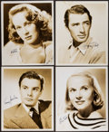 """Movie Posters:Hitchcock, The Paradine Case (Selznick, 1948). Autographed Photos (8) (8"""" X10""""). Hitchcock.. ... (Total: 8 Items)"""