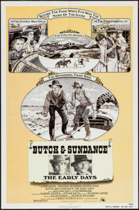 """Butch and Sundance: The Early Days & Others Lot (20th Century Fox, 1979). One Sheets (2) (27"""" X 41"""") &..."""