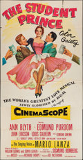 """Movie Posters:Musical, The Student Prince (MGM, 1954). Three Sheet (41"""" X 78""""). Musical.. ..."""