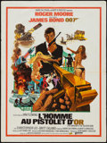"""Movie Posters:James Bond, The Man with the Golden Gun (United Artists, 1974). French Affiche (23.5"""" X 31.5""""). James Bond.. ..."""