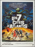 "Movie Posters:Fantasy, Warlords of Atlantis (Parafrance, 1978). French Grande (47"" X 63""). Fantasy.. ..."