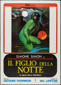 "Movie Posters:Horror, Cat People (BBC, R-1976). Italian 2 - Foglio (39"" X 55""). Horror.. ..."