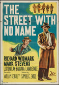 "Movie Posters:Film Noir, The Street with No Name (20th Century Fox, 1948). International One Sheet (27.5"" X 39.5""). Film Noir.. ..."