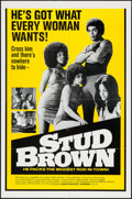 "Movie Posters:Blaxploitation, Dynamite Brothers (Cinemation Industries, R-1975). One Sheet (27"" X41"") AKA Stud Brown. Blaxploitation.. ..."
