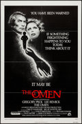 """Movie Posters:Horror, The Omen (20th Century Fox, 1976). One Sheet (27"""" X 41"""") Style F. Horror.. ..."""