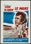 "Movie Posters:Sports, Le Mans (National General, 1971). Belgian (14.5"" X 22""). Sports.. ..."