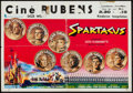 "Movie Posters:Action, Spartacus (Cinema International, 1960). Belgian (15"" X 21.5"").Action.. ..."
