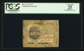 Colonial Notes:Continental Congress Issues, Continental Currency July 22, 1776 $7 PCGS Apparent Very Fine 25.....