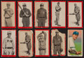 Baseball Cards:Lots, 1910's T210 Old Mill & T212 Coupon Card Collection (10). ...
